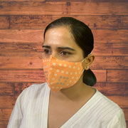 Bandhani Designer Face Masks - Pack of 3