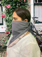 Unisex Reversible Double Layered Bandana Face Cover - Head Band - Neck Gaiter