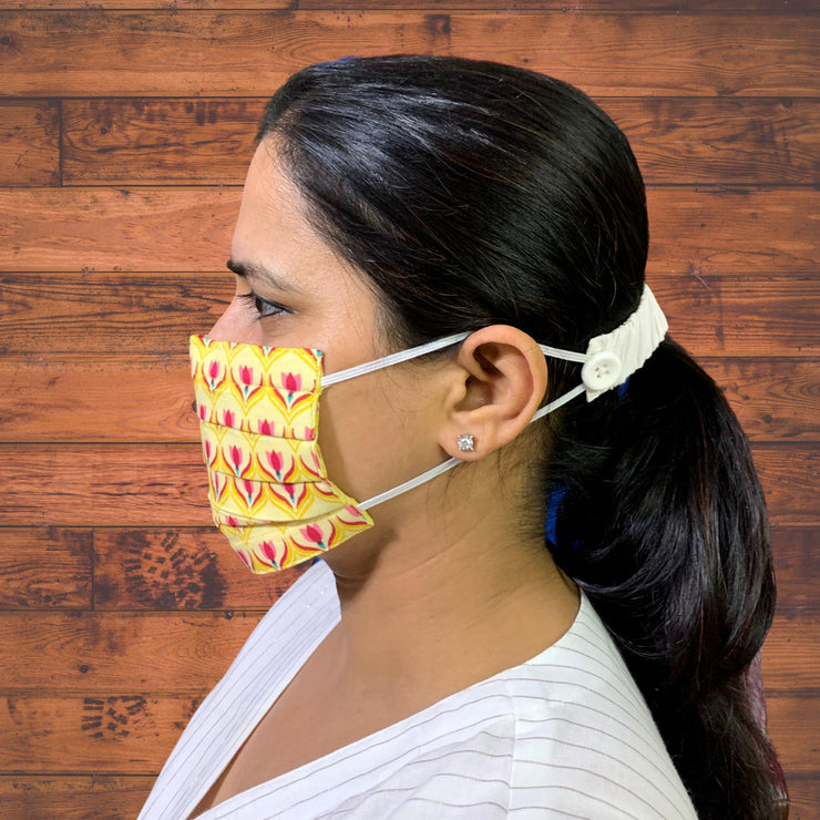 Handblock Face Masks - Pack of 3