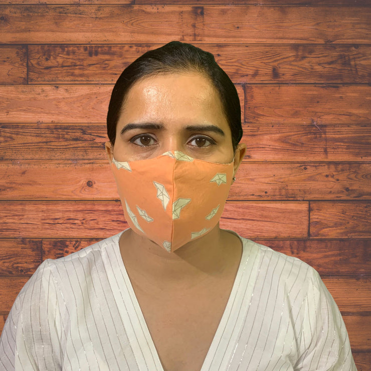 Quirky Face Masks with Ear Saver - Pack of 3