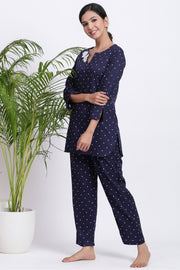 Polka dot jammies set