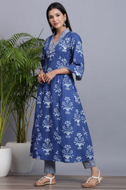 Gillori Indigo Suit Set