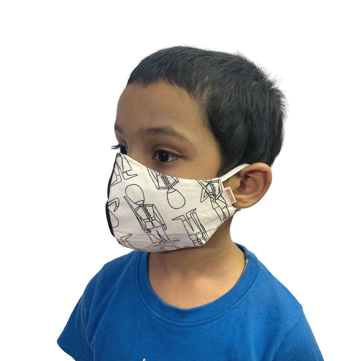 Resuable face mask for kids