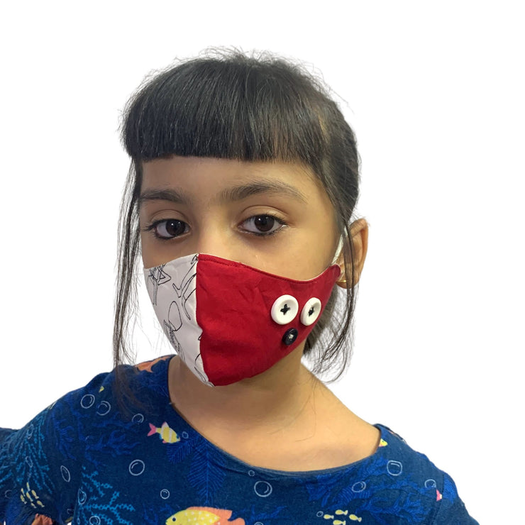 designer face mask for kids