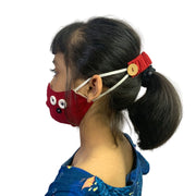 face mask with ear saver for kids