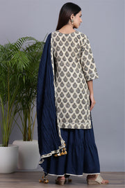 sharara dupatta set