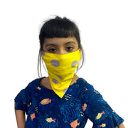 Bandana face cover for kids