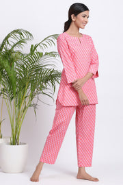 jammies set for women cotton