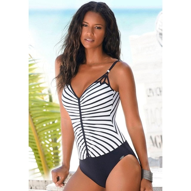 2020 Women One Piece Swimsuits