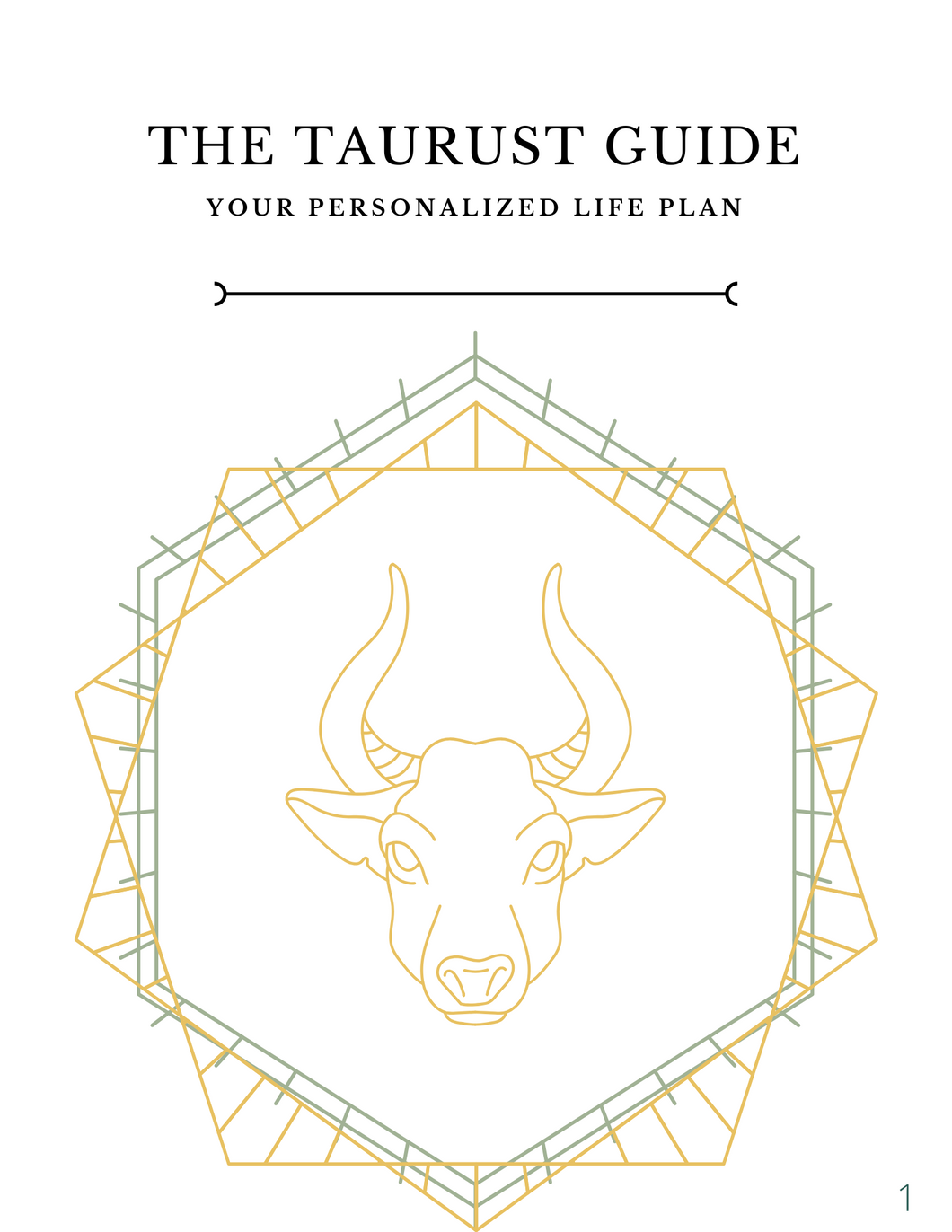 The TAURUST Guide: Digital Download Printable Version