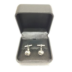 Small Metal Knot Cufflink
