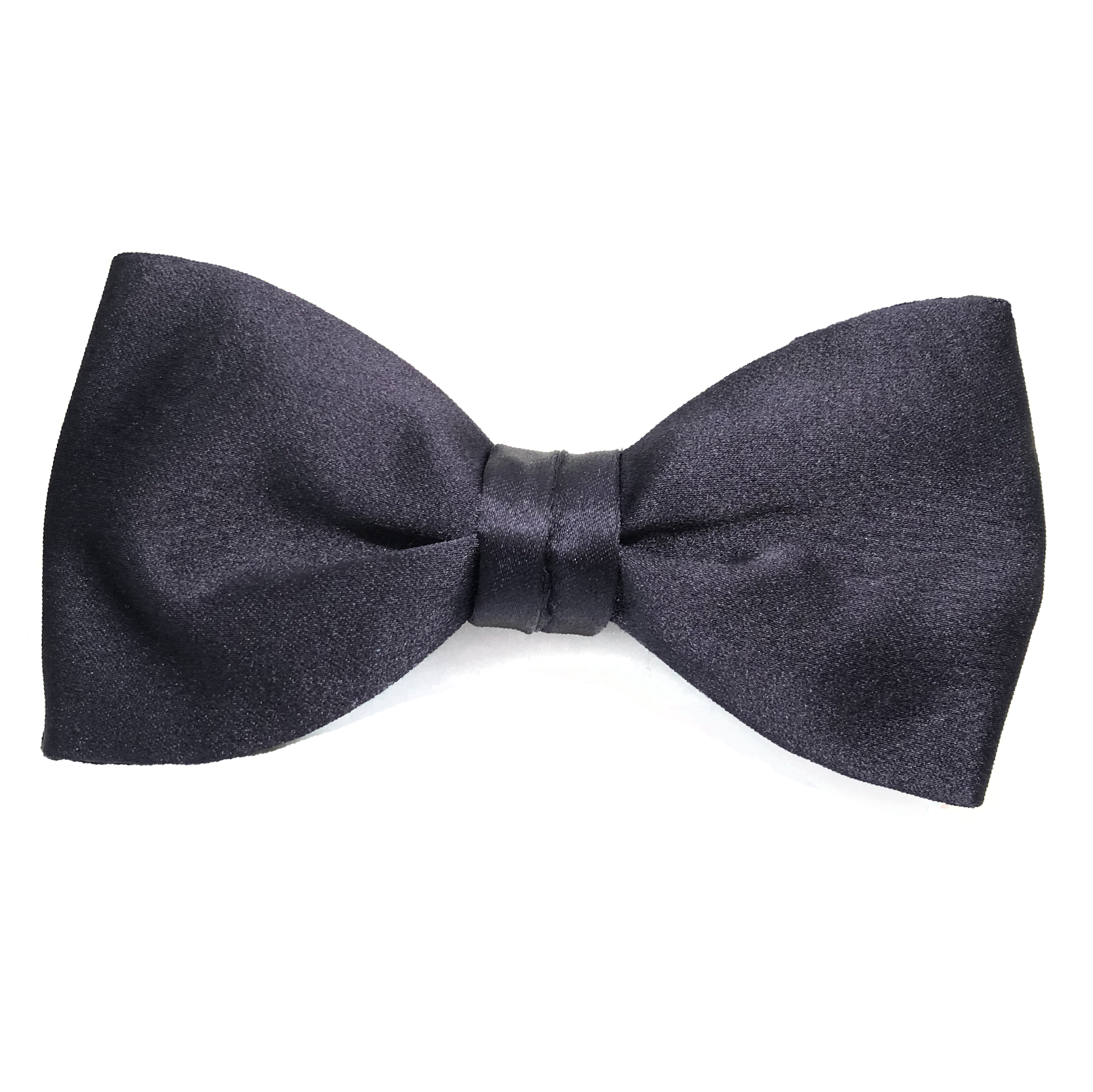 Silk Bow Tie Grey