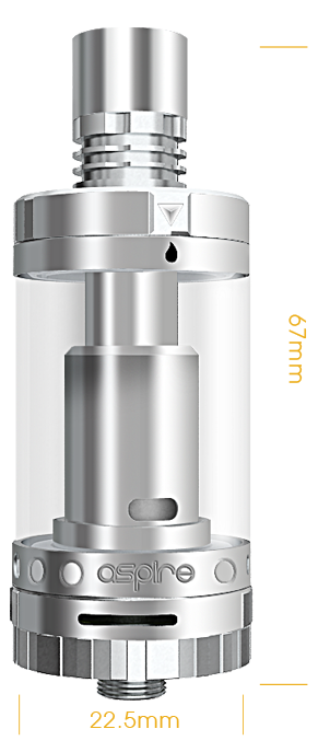 Aspire Triton 2 Sub Ohm Tank Atomizer (3.0ML)