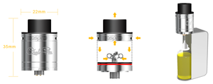 Aspire Quad-Flex Power Pack 4-in-1 Tank Atomizer