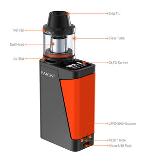 SMOK H-PRIV Mini 1650mAh Starter Kit with Brit Beast 3.5ML Tank