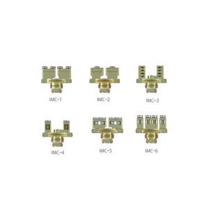 1PCS-PACK IJOY COMBO-LIMITLESS RDTA Gold-Plated Building Deck IMC-1-2-3-4-5-6
