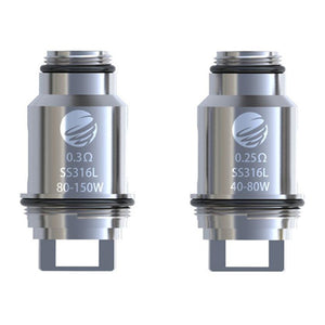 IJOY Tornado 150 Replacement 0.25 Ohm-0.3 Ohm Coil Head SS316L 5PCS-PACK