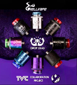 Hellvape Drop Dead RDA Tank Rebuildable Dripping Atomizer