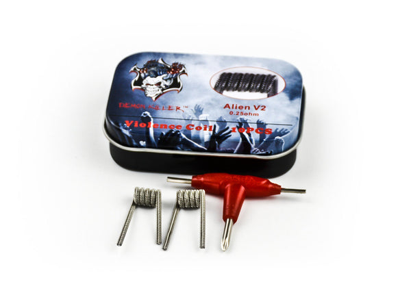 10PCS-PACK Demon Killer Alien V2 Coil 0.25 Ohm