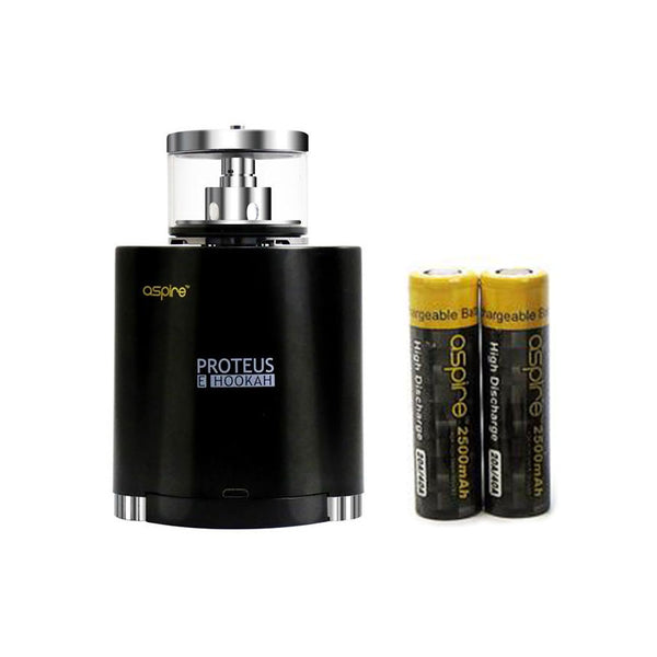 Aspire Proteus Hookah kit with 2x18650 Battery 2600mAh
