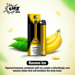 Barz Max Disposable Pod Device 600 Puffs 420mAh - 1pc/pack
