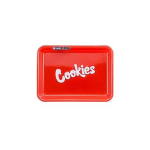 Cookies LED Cigarette Paper Storage Tray