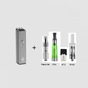 LVSmoke Enzo 4 in 1 450mAh Variable Voltage VV Box Mod For Thick Oil/Liquid/Concentrates/Dry Cartridges Tank