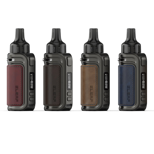 Eleaf iSolo Air Kit 40W with GTL Mini Pod Cartridge 1500mAh