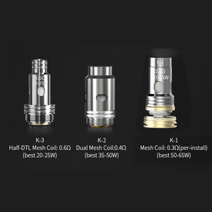 Smoant Replacement Mesh Coil For Pasito II/Knight 80 1pc/3pcs