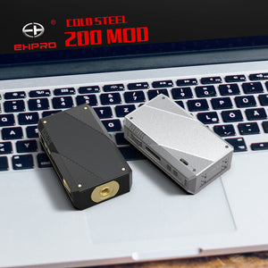 Ehpro Cold Steel 200 TC Box Mod 200W