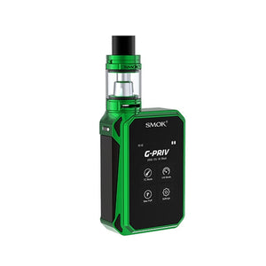 SMOK G-PRIV 220w Touch Screen 5.0ML Starter Kit With TFV8 Big Baby