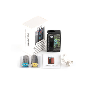 Omaoo Toucan Pod System Kit 900mAh Compatible