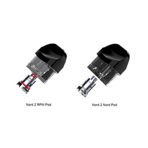 SMOK Nord 2 Replacement Empty Pod Cartridge 4.5ml 3pcs-pack