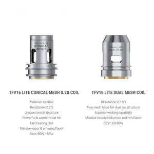Smok TFV16 Lite Replacement Coil 3pcs-pack