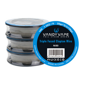 10FT Vandy Vape Triple Fused Clapton Wire