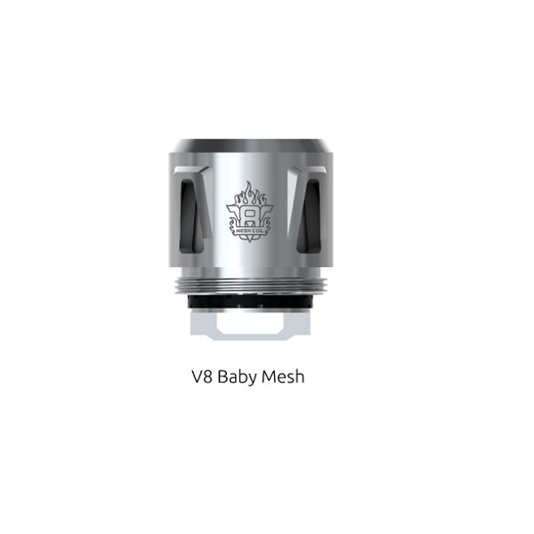 SMOK V8 Baby Mesh Replacement Coil 0.15 Ohm For TFV12 Baby Prince-TFV8 Baby-TFV8 Big Baby 5PCS-PACK