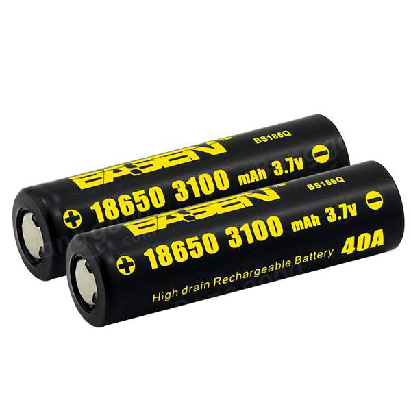 Basen BS186Q 18650 3100mAh 40A Rechargeable Battery