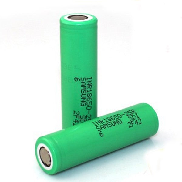 Samsung INR18650 25R Rechargeable Battery 2500mAh 22A
