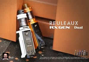WISMEC Reuleaux RXGen3 Dual 230W TC Kit with GNOME King Tank 5.8ML