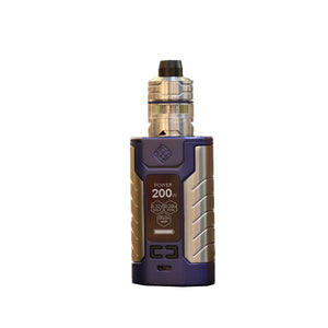 Wismec SINUOUS FJ 200 200W Kit with Divider Tank 4600mAh & 4ML