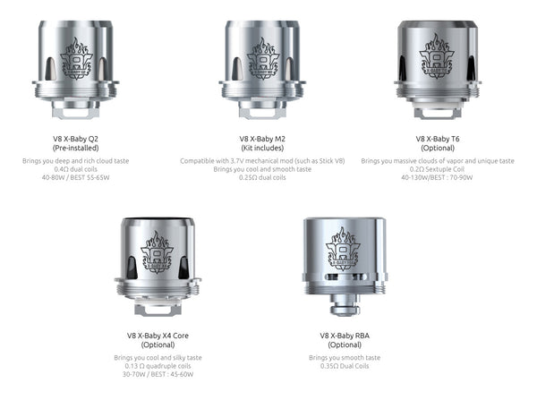 SMOK TFV8 X-Baby Replacement Coil 3PCS-PACK