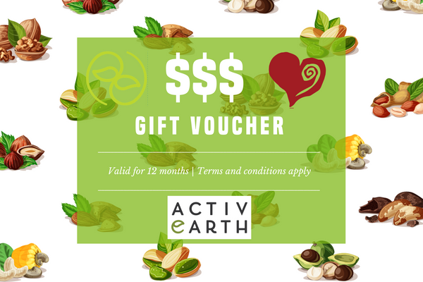 Activ Earth Food - Gift Voucher