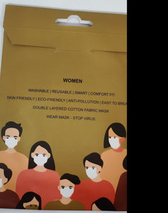 Cotton Mask - Women