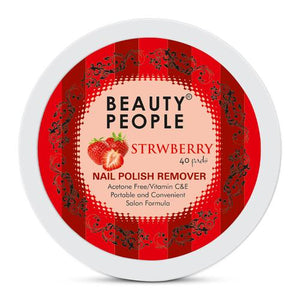 Beauty People Pad Nail Polish Remover - Strawberry