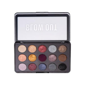 Blow Out Eye Shadow Palette - 15 Colors - Intense