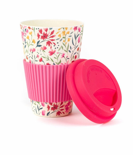 Cambridge Eco-Friendly Travel Mug 470ml - Pink Floral