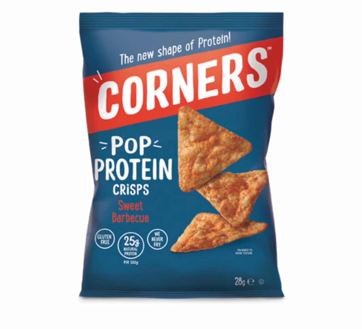 Corners Pop Protein Crisps - Sweet Barbecue