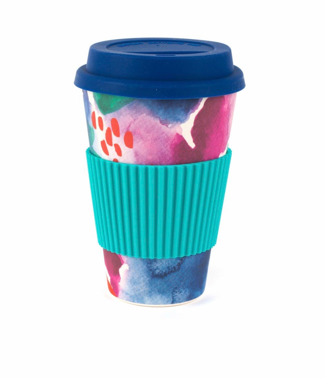 Cambridge Eco-Friendly Travel Mug 470ml - Watercolour