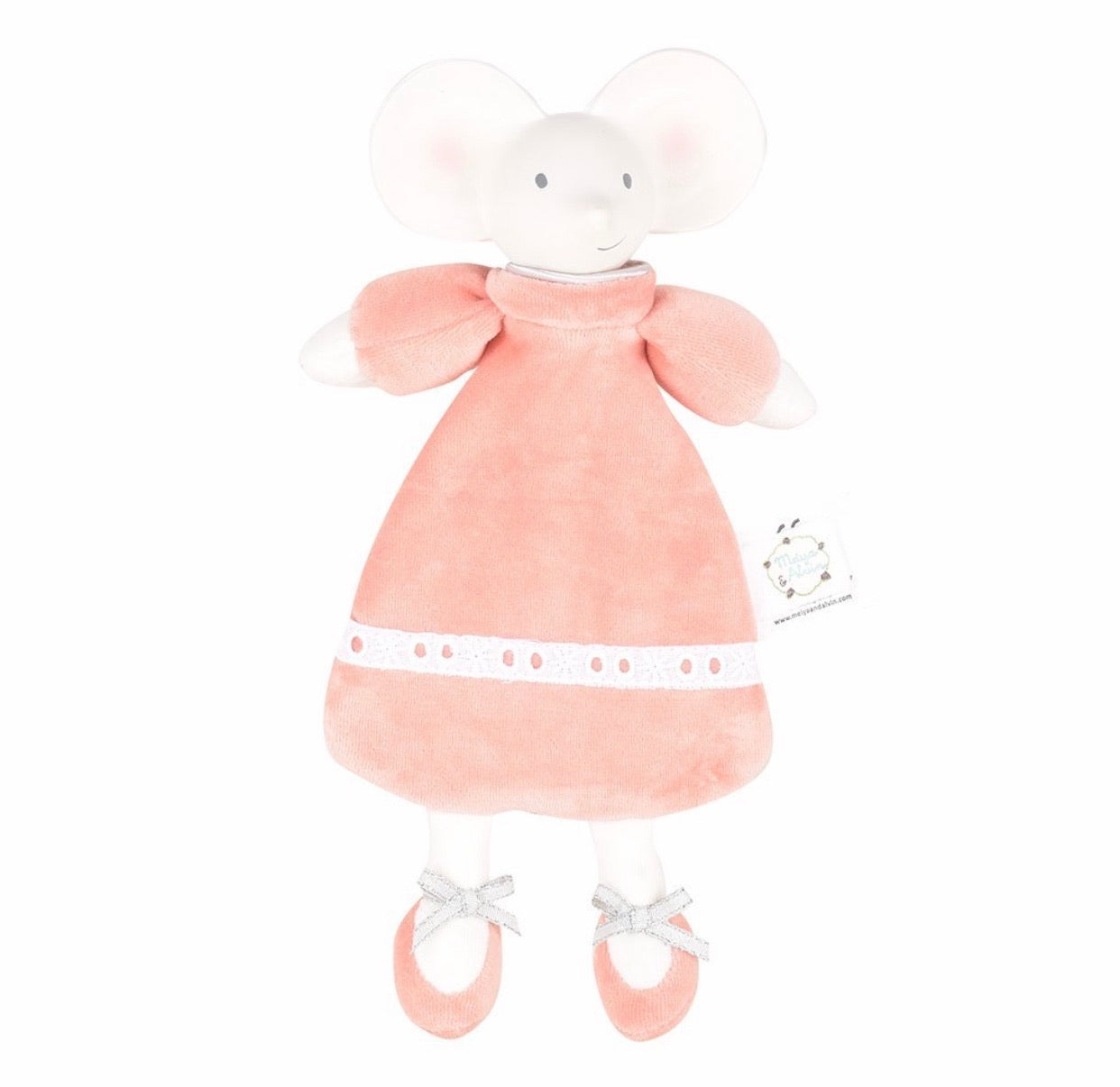 Natural Rubber Head, Organic Cotton Body Soft Toy – Meiya Lovey