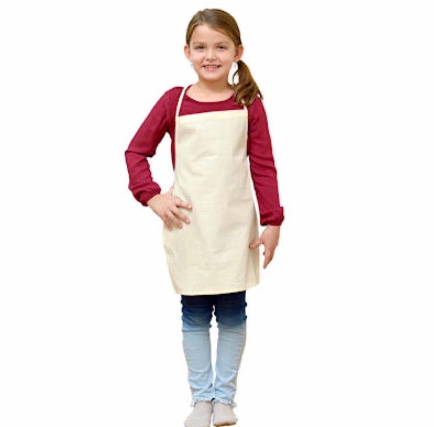 Organic Cotton Kiddies' Apron
